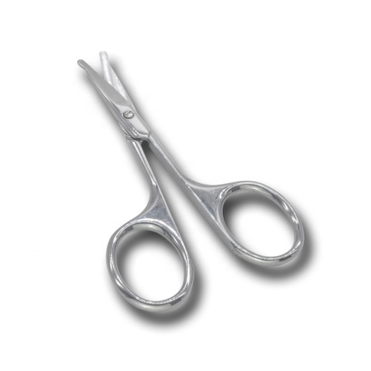 Professional Silver Stainless Steel Beauty Tool Mini Makeup Scissors
