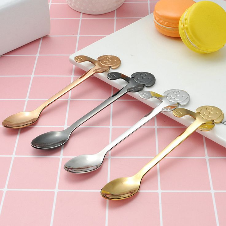 Stainless Steel Coffee Mixing Spoon