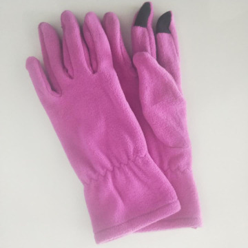 Custom Logo Fleece Gloves Phone Touch Screen Gloves