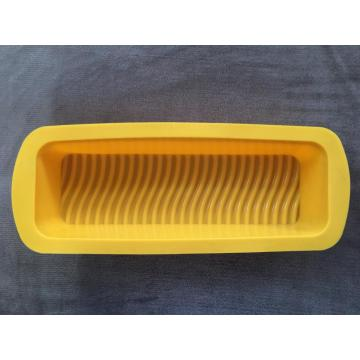 Rectangular silicone cake bread baking molds