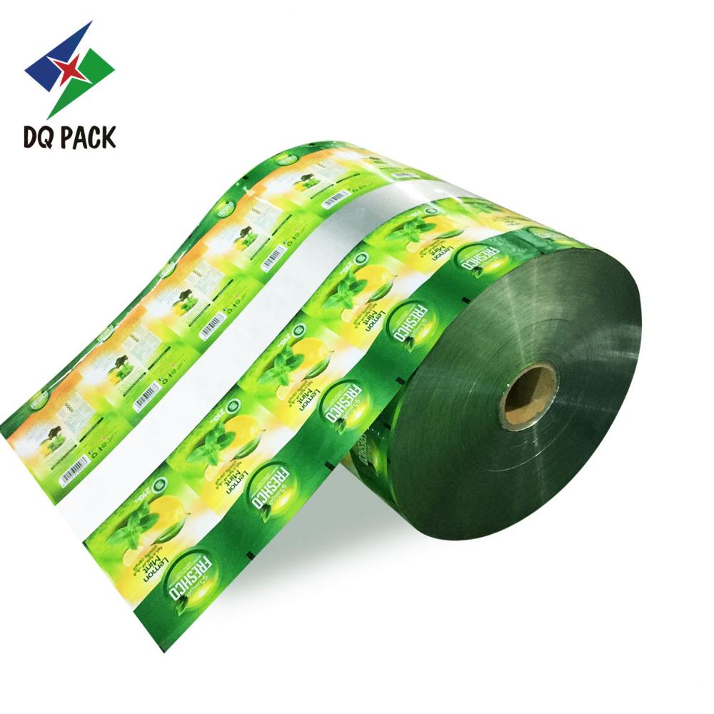 Plastic packaging roll stock for food