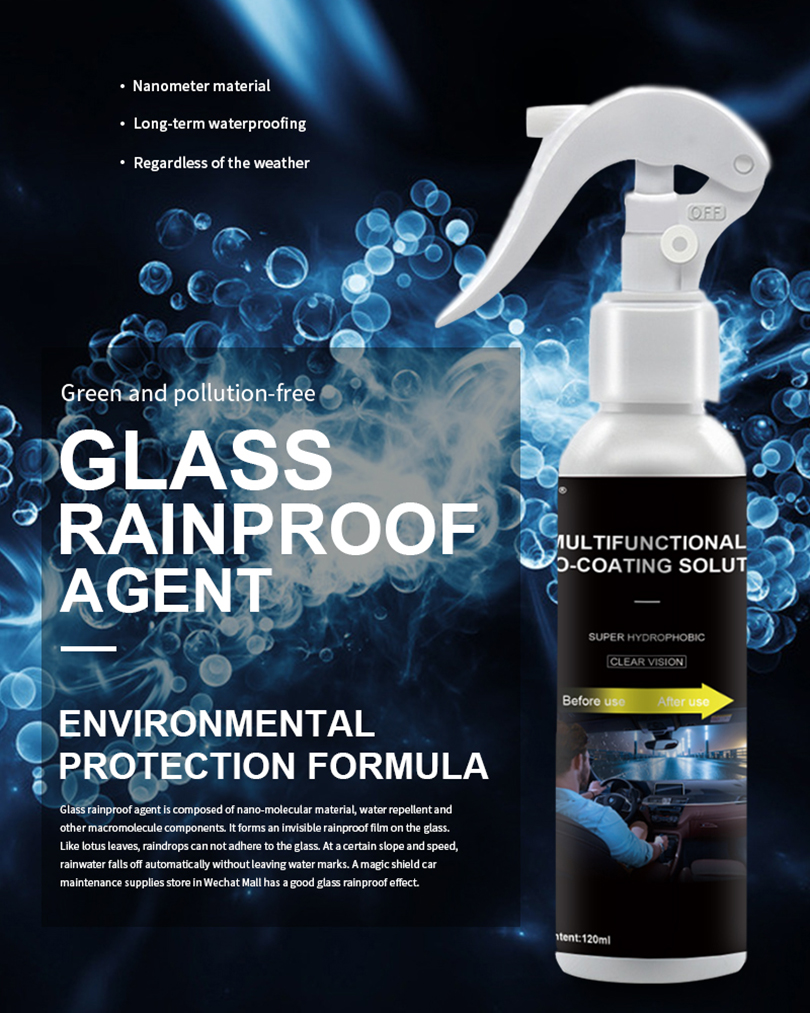 Mirror Glass Rainproof Agent