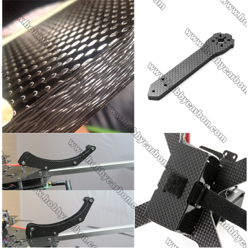 3.0x400x500mm Carbon Fiber Sheet Frame for Drone RC