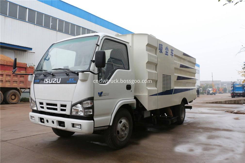 isuzu sweeper truck 1