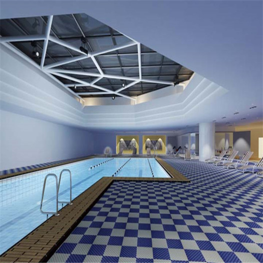 Wet Area Mat in Swimming Pool Sauna Room