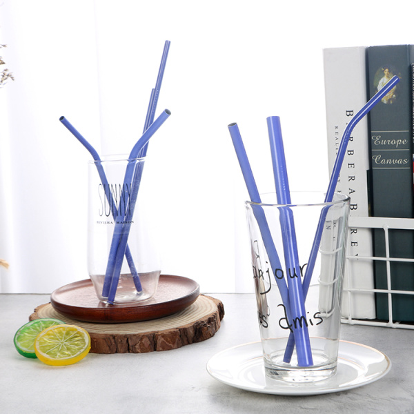 304 stainless steel color change drinking straw