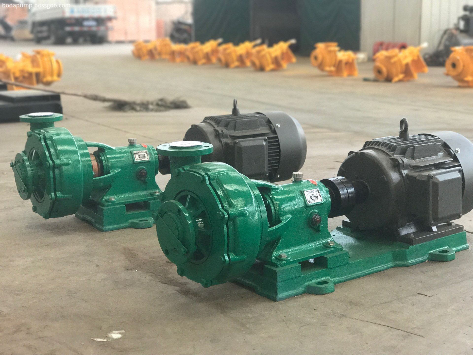 IHF series explosion-proof fluoroplastic lined centrifugal pump