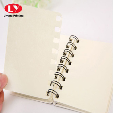 Custom  daily nice Notebook with plastic ring
