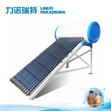 Thermal heater for solar pressurized with heat pipe
