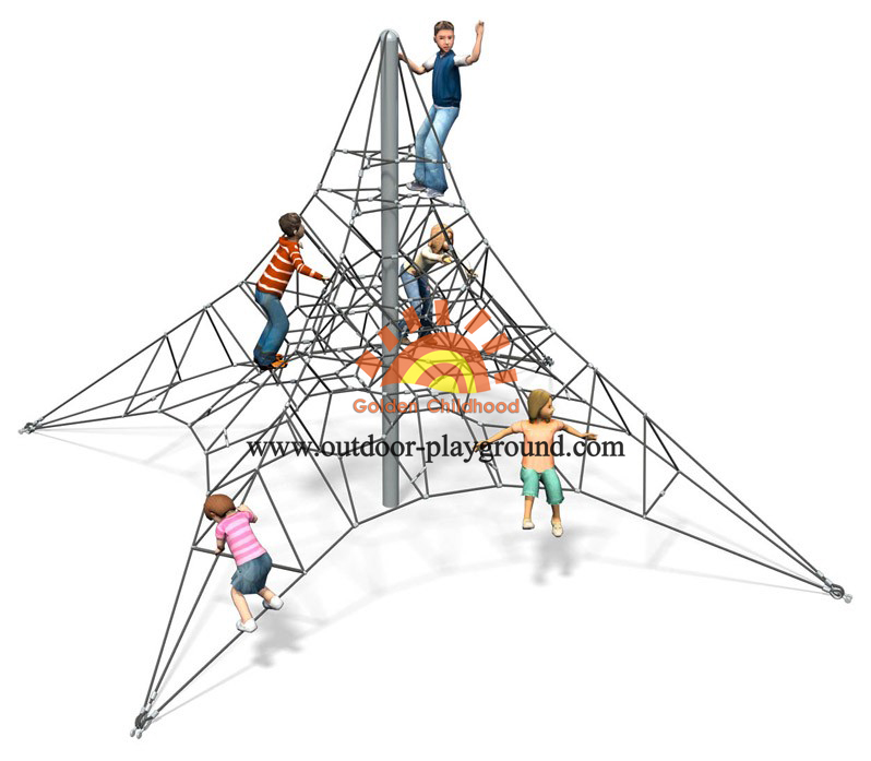 climbing activity net playground for kids