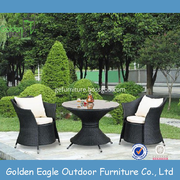 aluminium outdoor PE patio furniture