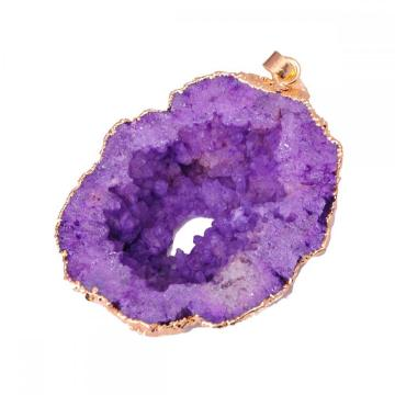 Amethyst Crystal Jewelry Necklace Pendant