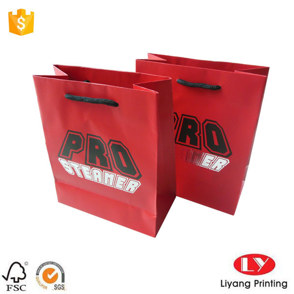 Paper Jewelry Packaging Bag Custom Logo