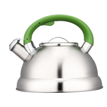 3.5L whistling Teakettle with color painting nylon handles