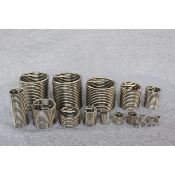 SS M2 coil thread insert for aluminum