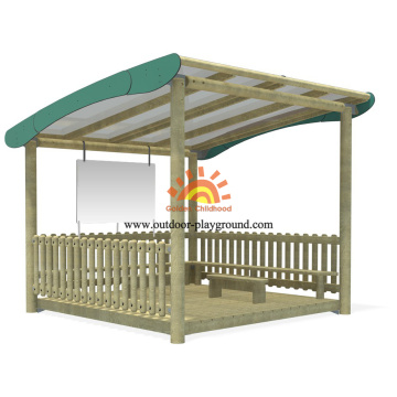 Large Wooden Playground Equipment Structures On Sale