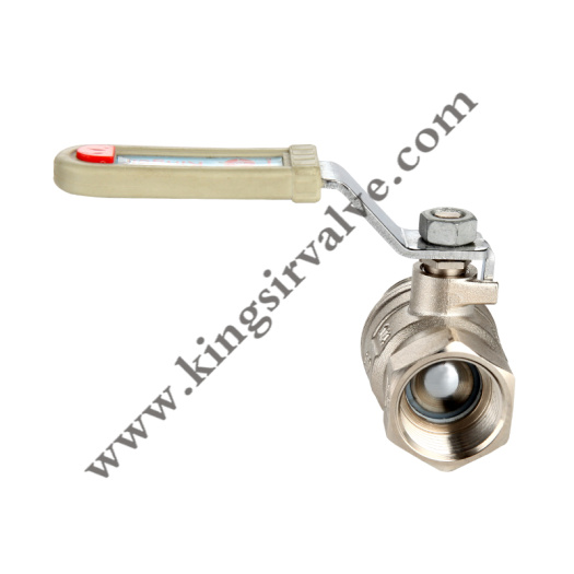 Nickel plating brass ball valve
