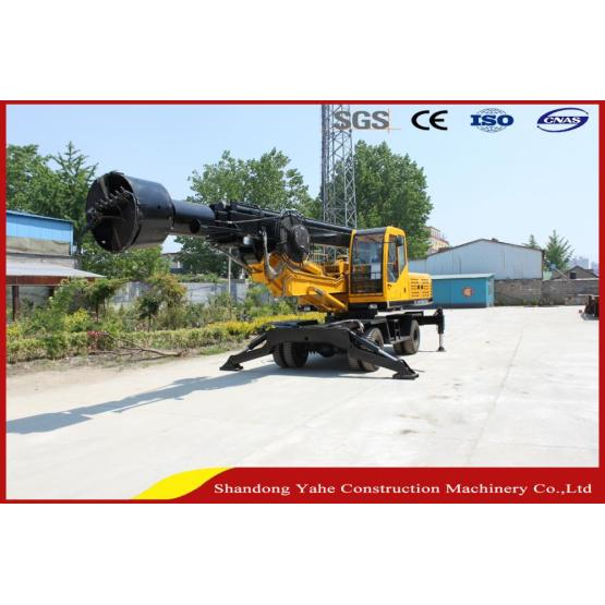 DL-360 wheel drill rig for construction building