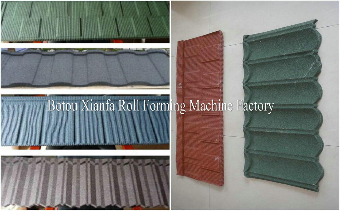 Roof Tile Machine