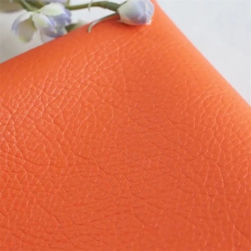Litchi Grain PU Fake Leather for Chair Seat