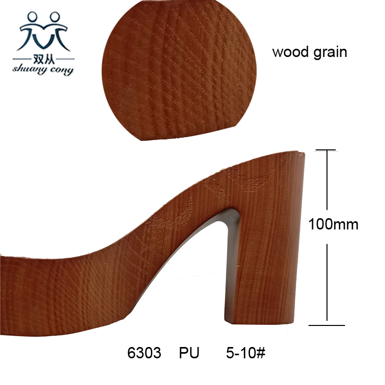 Wooden Outsole