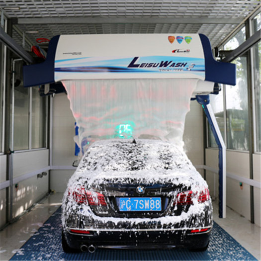Leisuwash 360 touch free automatic car wash machine