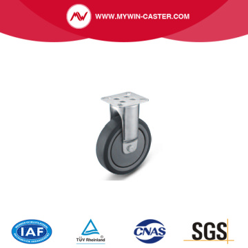 Plate Fixed TPE Institutional Caster