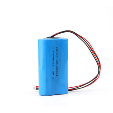 18650 2S1P 7.4V 2200mAh Lithium Ion Battery Pack