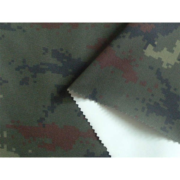 500D Cordura Flame-retardant and WR Camouflage Fabric