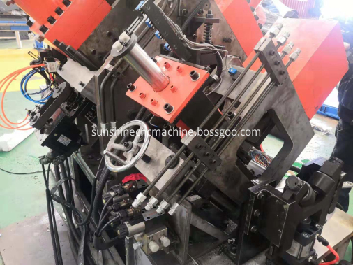 band steel punching shearing line