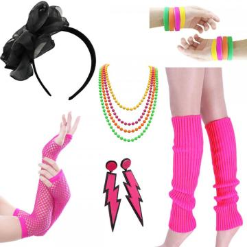 Women's 80s Costumes Set For Womens