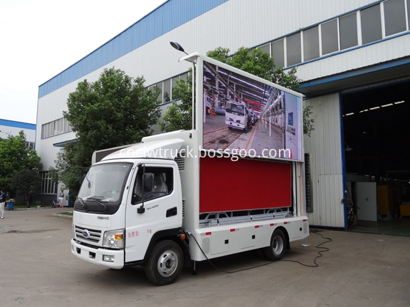 Outdoor Advertising Truck 1