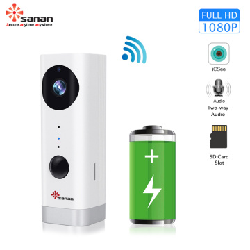 Rechargeable Battery Network CCTV WiFi Camera