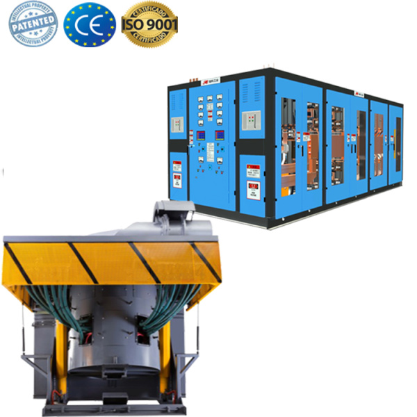 medium frequency induction furnace for melting aluminum