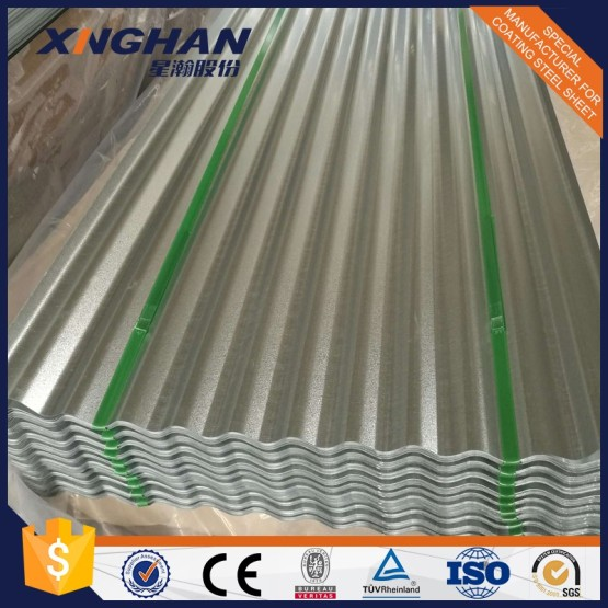 Aluminium Zinc Corrugated Sheet Metal Roofing Tile