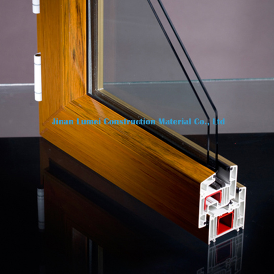 Coffee UPVC Profiles for Window & Door