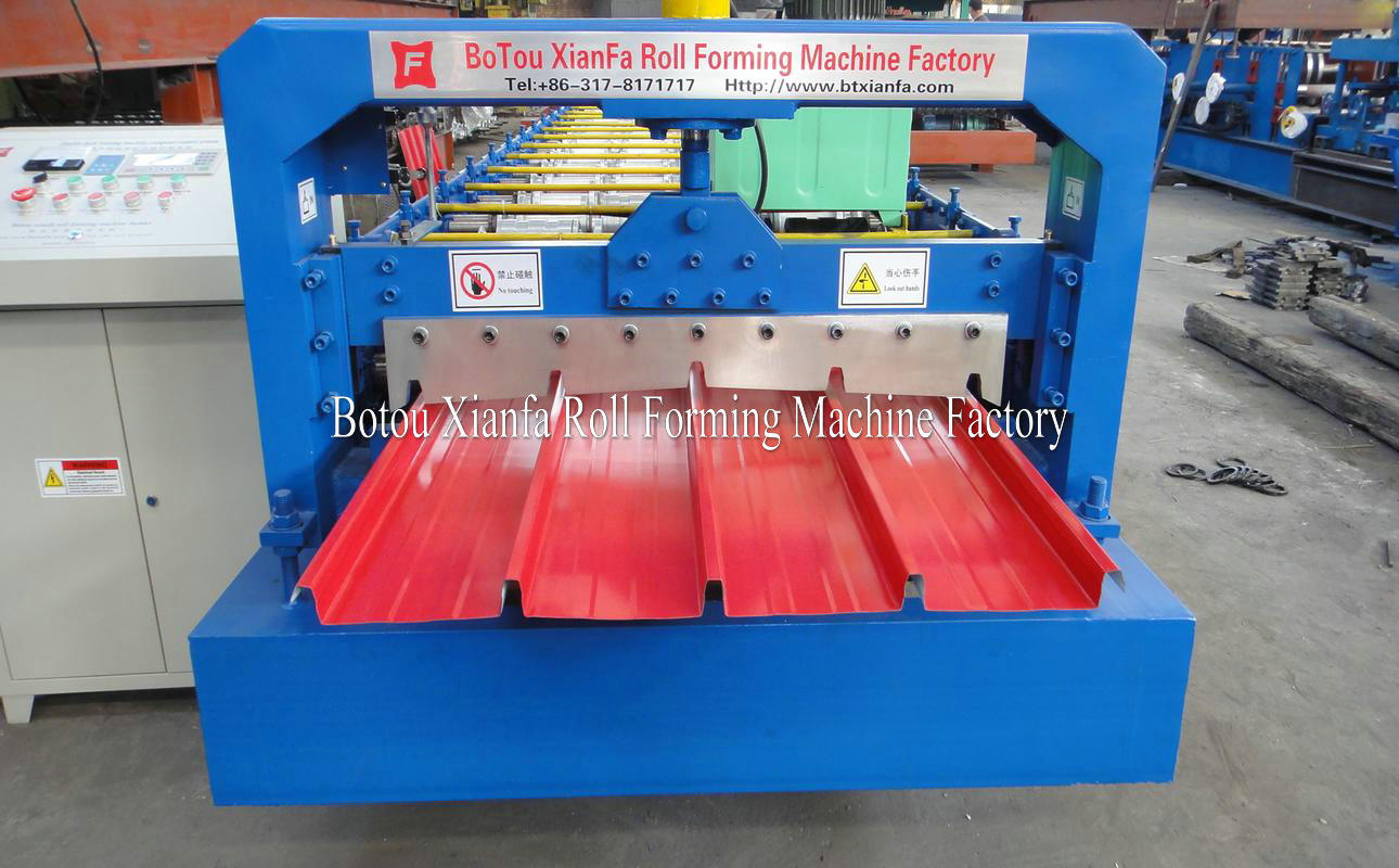 hidden joint forming machine