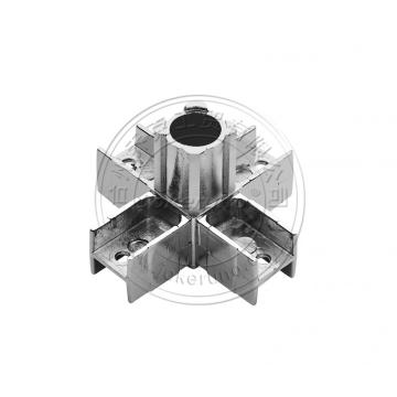 square 20mm tube connector