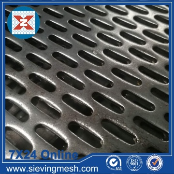 Slot Holes Perforated Sheets