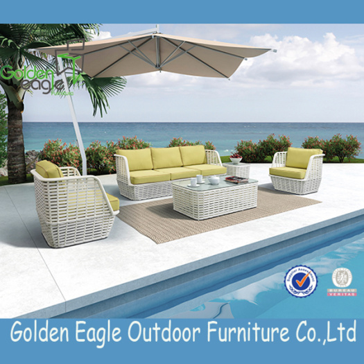 Cheap rattan sofa set with modern design