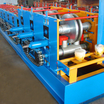 Hot selling c channel cz purlin aluminum roll forming machine