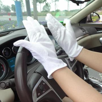 Inspection jeweler band cotton parade hand gloves
