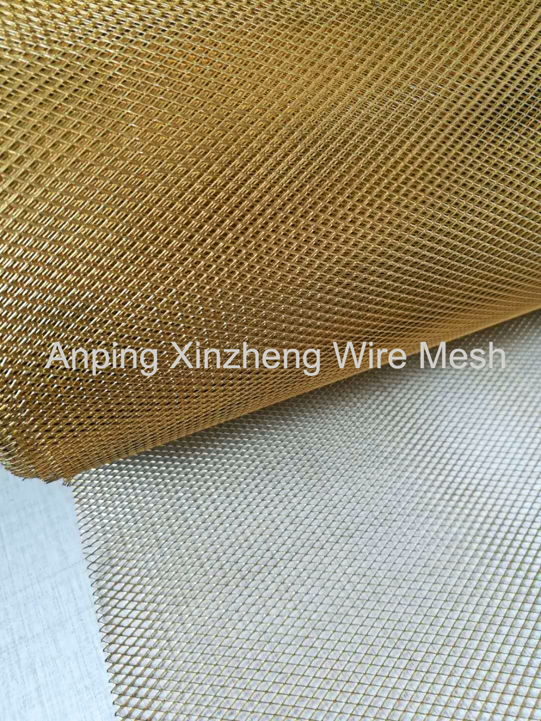 Brass Expanded Mesh