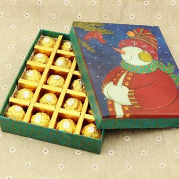 Christmas Snowman Gift Packaging Chocolate Box