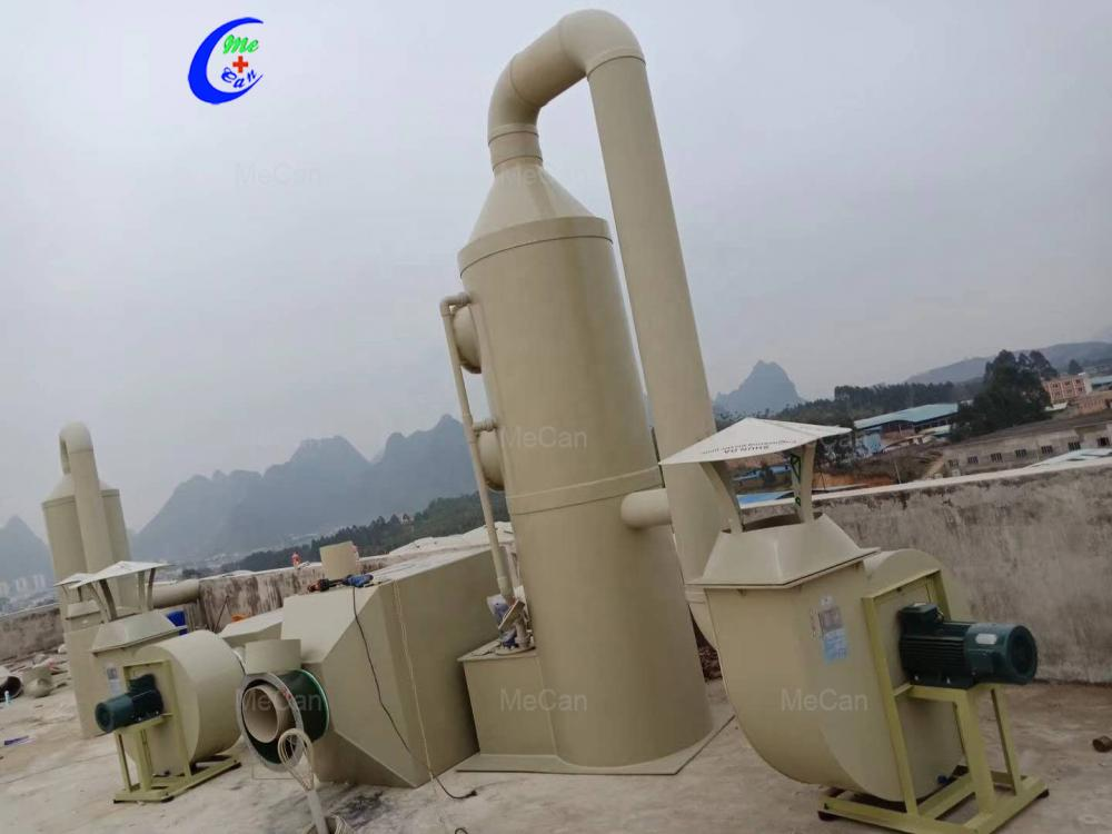 Cleaner Tower Industrial Spray Purification Tower
