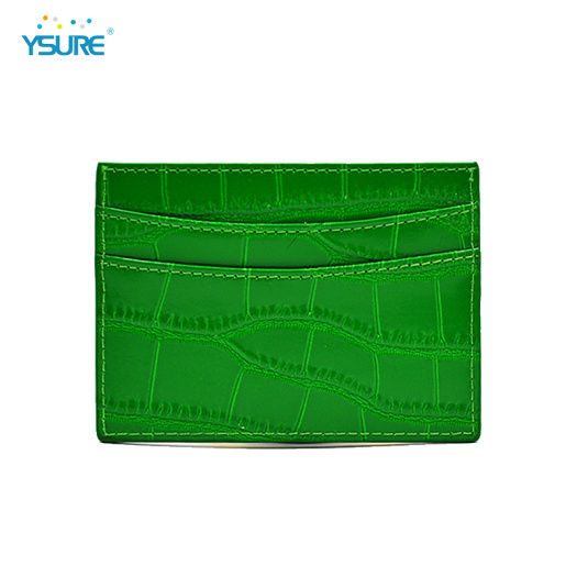 Custom Logo Slim Business Credit Id Card Holders