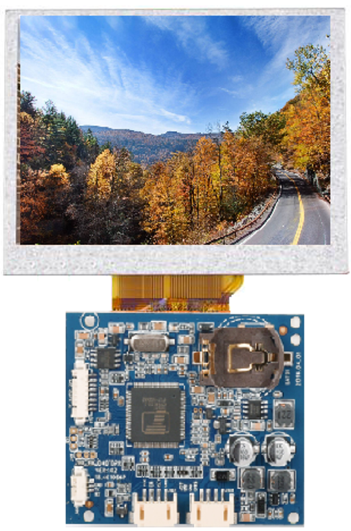AUO 2.7 Inch TFT-LCD Module