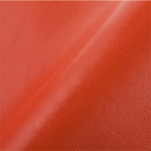 Artificial suede backing PU faux leather material