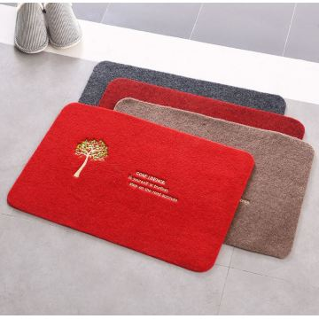Hot new products beautiful embroidered door mat