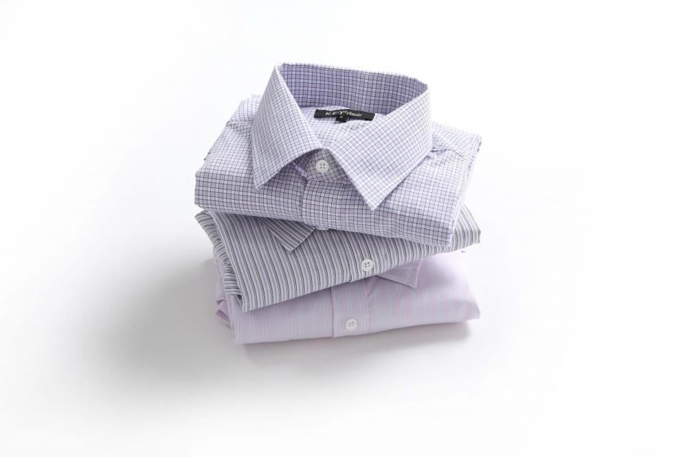 Men's check and stripe shirts